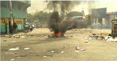Capital de Haití bloqueada en protestas por el combustible