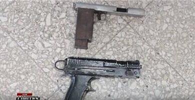 Junta de vecinos ocupa dos armas de fabricación casera a menores