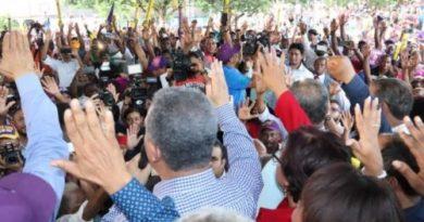Leonel proclama que inició desde yael conteo regresivo para el triunfo
