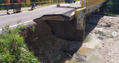 Lluvias dejan incomunicadas varias comunidades de El Cercado
