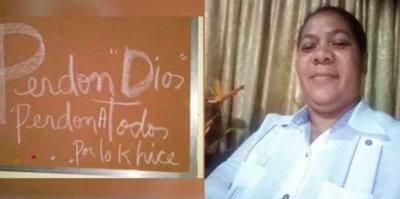 Pastora se suicida en Barahona; dejó mensaje pidiéndole perdón a Dios