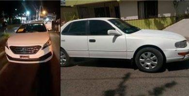 Policía Nacional recupera vehículos habían sido robados en SFM