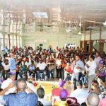 Sabana Iglesia, Villa González y Navarrete respalda la candidatura del senador de Santiago Julio César Valentín