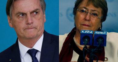 Sebastián Piñera repudió los dichos de Jair Bolsonaro sobre la dictadura de Pinochet y la muerte del padre de Michelle Bachelet
