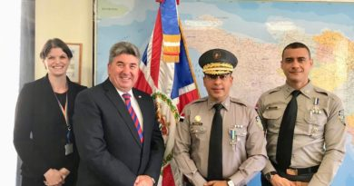 Embajada británica expresa satisfacción por labores por la seguridad ciudadana
