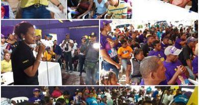 Yomaira es bien acogida en comunidades de Vallejuelo, Comunitarios dicen es una persona noble de gran corazón