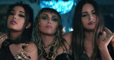 """Lana del Rey, Ariana Grande y Miley Cyrus son """"Los ángeles de Charlie"""" de la música"""