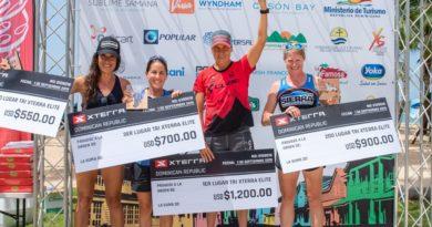 Karsten Madsen y Fabiola Corona ganan triatlón Xterra Samaná