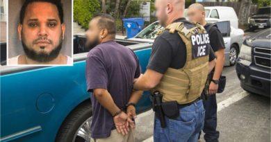 Siete dominicanos arrestados en redadas de ICE en Nueva York y Nueva Jersey por delitos graves