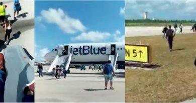 Dominicanos que viajaban en avión de Jet Blue a Orlando creyeron que iban a morir antes de aterrizaje forzoso en Bahamas