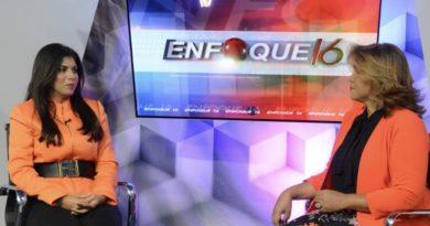 Margarita Feliciano, Precandidata a Diputada por la Circ.1 del DN. Habla sobre la creación del Ministerio de la Familia en Enfoque 16