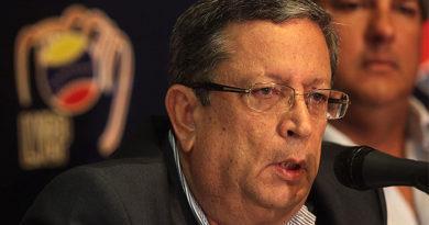 El ingeniero Juan José Ávila, presidente de la Liga Venezolana de Béisbol