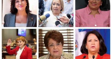 Solo 6 mujeres integran el poderoso Comité Político del PLD