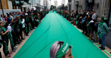 Legisladoras mexicanas promueven la despenalización del aborto en todo el país