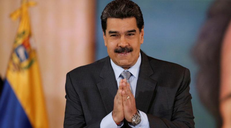 """""""Creen que muevo mis bigotes y tumbo gobiernos"""": Maduro se burla de la acusación de Moreno de que está detrás de la crisis de Ecuador"""