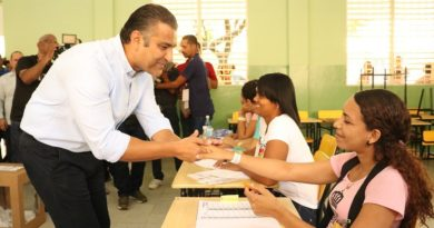 Luis Alberto Tejeda se perfila como virtual ganador candidato alcalde en el PLDen SDE