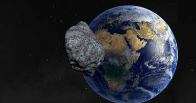 ALERTA :Un asteroide del tamaño de la Gran Pirámide de Guiza pasa (de nuevo) cerca de la Tierra