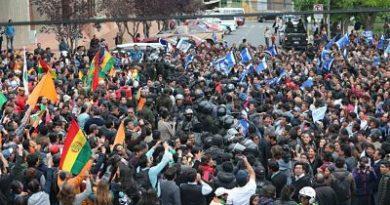 Al menos 57 detenidos y 29 heridos en protestas en Bolivia, según Defensoría