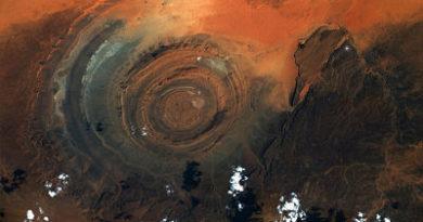 Astronauta capta el colosal 'Ojo del Sahara' desde la EEI