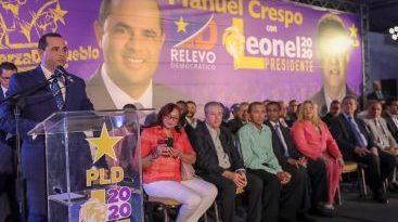 Leonel asegura el próximo domingo se decidirá entre el dinero o los méritos