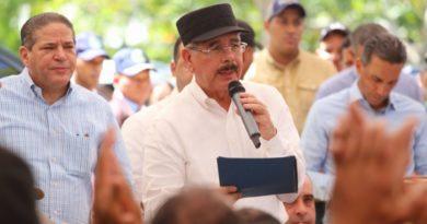 Presidente Medina dispone medidas para impulsar pesca en el nordeste