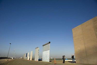 El muro fronterizo de Trump puede causar inundaciones, alertan expertos