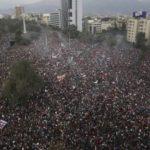 Este 'timelapse' muestra todo lo que pasó en las 8 horas de la histórica 'marcha más grande de Chile' en tan solo 2 minutos