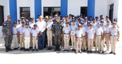 Impacto positivo de Policía Juvenil Comunitaria llega a la provincia María Trinidad Sánchez con la graduación de 52 nuevos integrantes