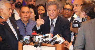 Leonel: No vamos a permitir que al pueblo se le robe su voluntad
