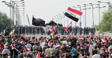 Nuevas protestas por más servicios en Irak causan 24 muertos y 2.000 heridos