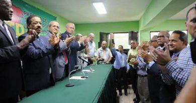 PTD notifica a la JCE cambio de nombre a Fuerza del Pueblo (FP) y que Leonel es su presidente
