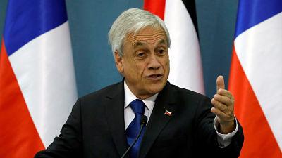 """Piñera: """"He enviado al Congreso un proyecto de ley para suspender el incremento de las tarifas del metro"""""""