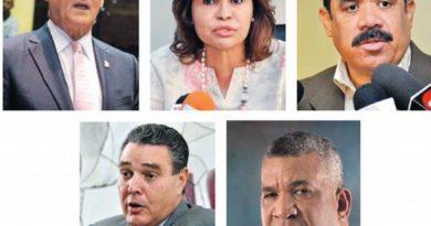 Cinco senadores quedan fuera de juego para otra gestión en la cámara