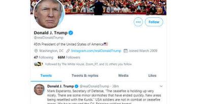 ¿Un error del autocorrector del celular?: Trump confunde el apellido de su secretario de Defensa