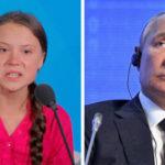 """Una niña buena pero mal informada"""": Greta Thunberg responde a Putin"""