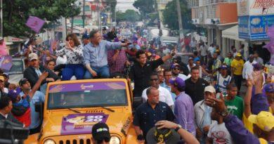 Leonel: Esas elecciones fueron ganadas ya hoy por la más grande manifestación política de RD