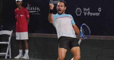 Víctor Estrella triunfa en debut Santo Domingo Open 2019