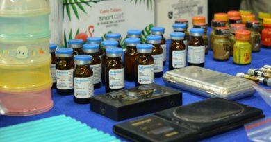 Policía Nacional arremete contra comercialización de drogas sintéticas y ocupa decenas de narcóticos