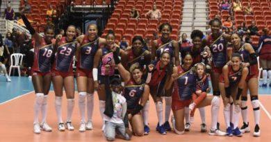 Las Reinas del Caribe ganan y disputan hoy el oro en torneo Norceca