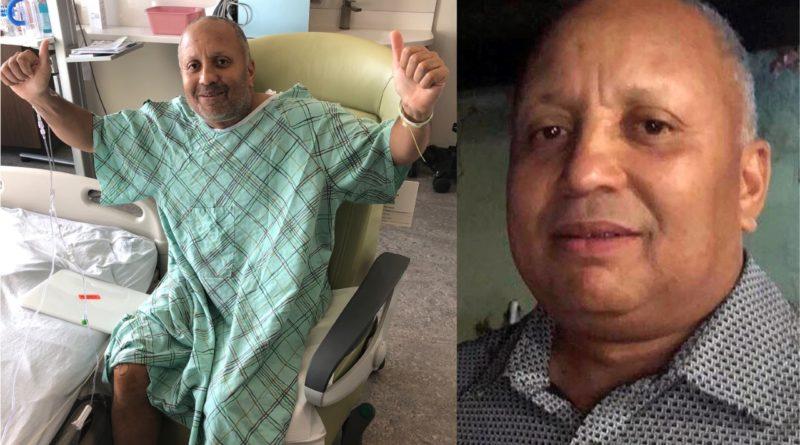 Amputan pie y dedos a reconocido periodista Esteban Cabrera después de accidente en RD cuando evadió motorista para no atropellarlo