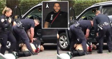 Sargento que mató dominicano en El Bronx le bajó pantalones y lo esposó después de muerto; familia dice lo trataron como un perro