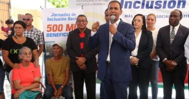 Plan de reducción de pobreza alcanza 500,000 beneficiarios durante jornada realizada en Cristo Rey