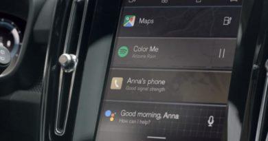 El Volvo XC40 eléctrico estrenará en su navegador el sistema operativo de Google