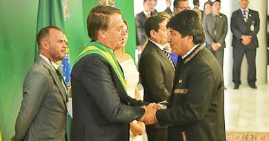 """Jair Bolsonaro, tras la renuncia de Evo Morales: """"La palabra 'golpe' se usa mucho cuando pierde la izquierda. Cuando ganan, es legítimo"""""""