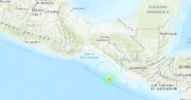 Un sismo de magnitud 6,4 se produce cerca de las costas de México