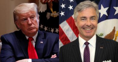 Trump nominará al embajador en Noruega, Ken Braithwaite, como nuevo secretario de la Marina de EE.UU.