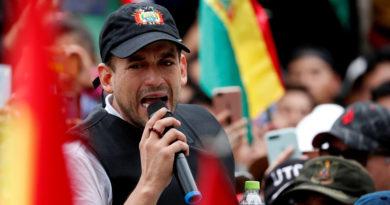 El ultraderechista Luis Fernando Camacho anuncia candidatura a la presidencia de Bolivia