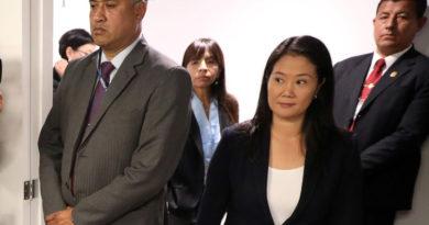 Keiko Fujimori sale de prisión tras fallo de la Corte Constitucional