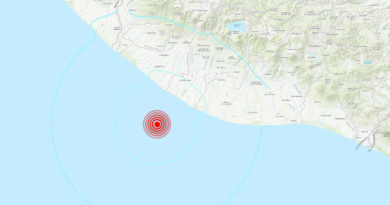 ALERTA:Un sismo de magnitud 5,6 sacude las costas de Guatemala