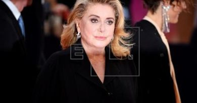 "Actriz Catherine Deneuve sufre un accidente cerebrovascular ""limitado y reversible"""